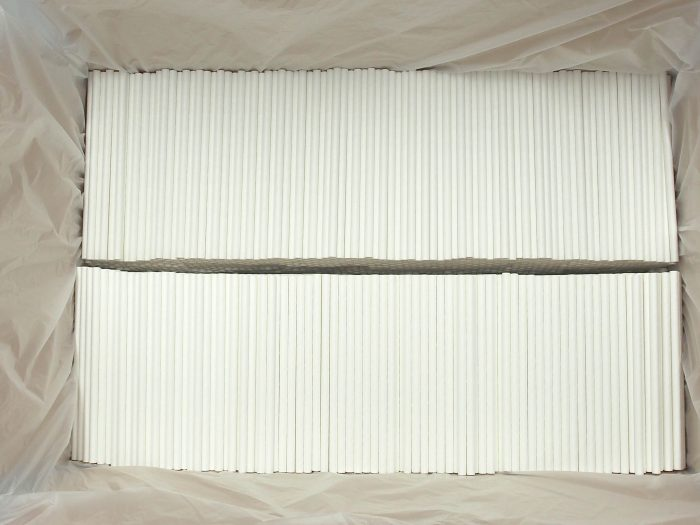 white cocktail paper straw bulk