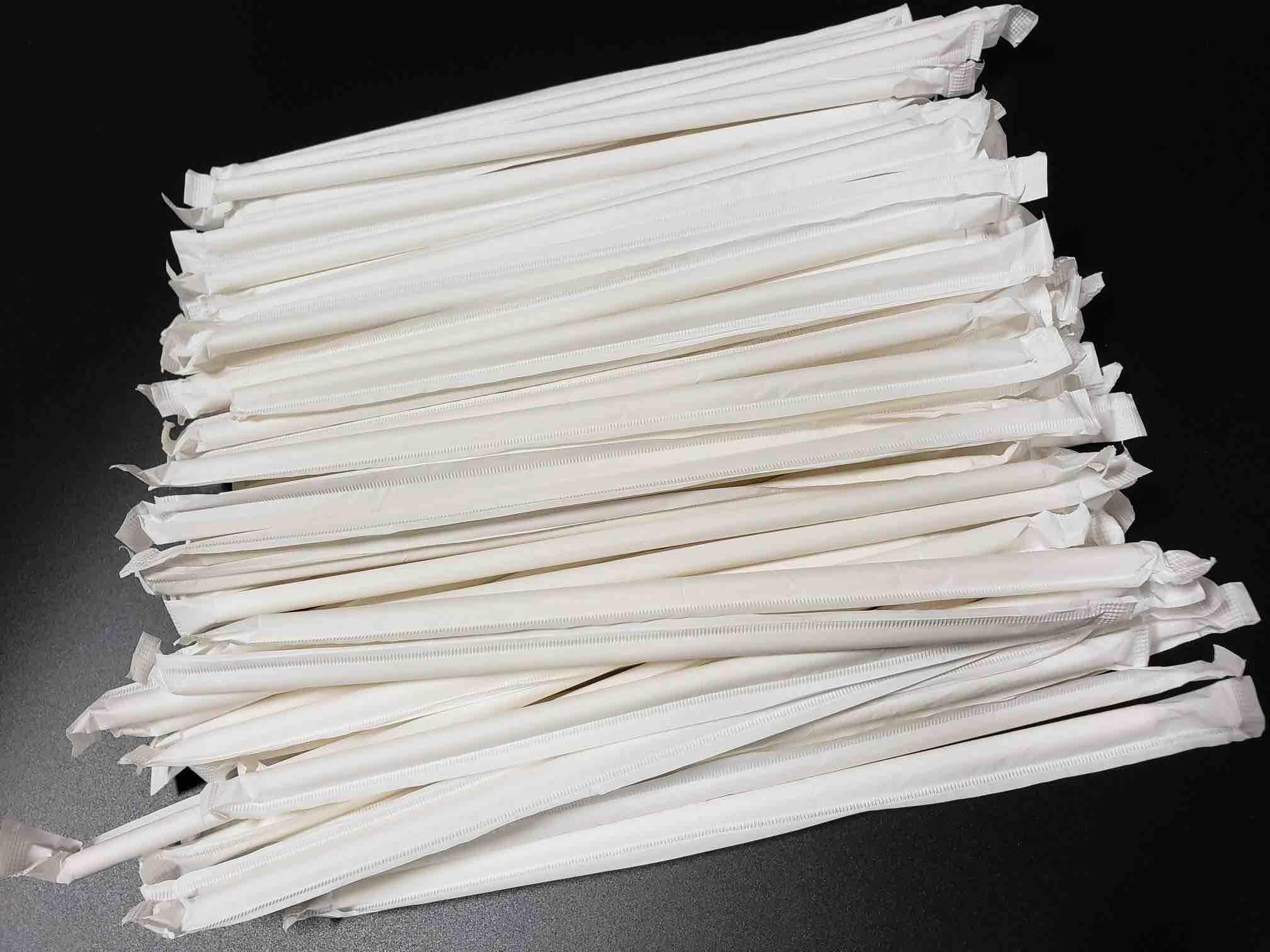 wrapped bulk paper straws Astraws 1