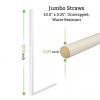 10 inch unwrapped paper straws in bulk for restaurants