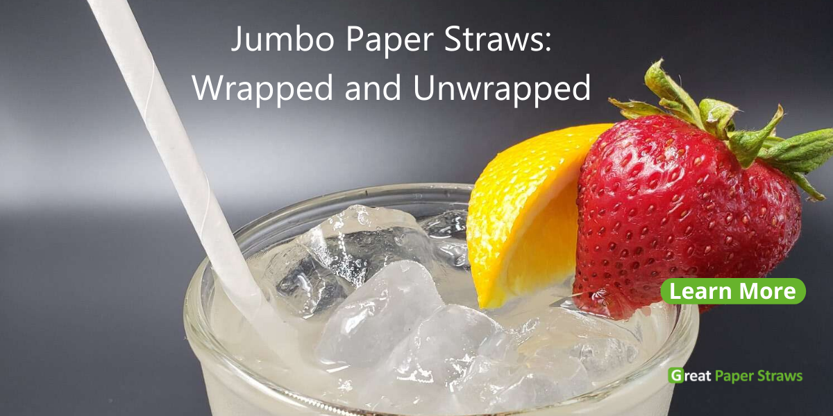 jumbo paper straws made in the usa