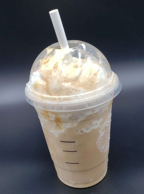 giant smoothy straw used in starbucks frappe