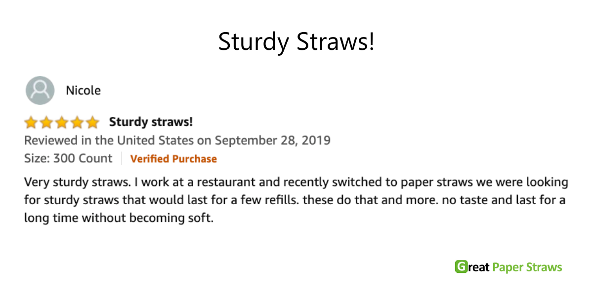 sturdy paper straws made in usa